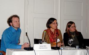 Roman Herre, Carolin Callenius, Vera Köppen v.l.