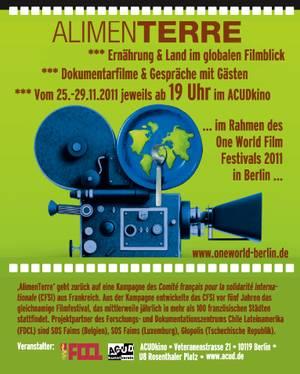 AlimenTerre@One World Film Festival 2011