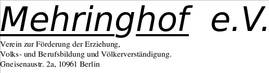 Mehringhof Verein