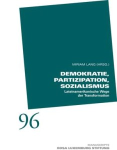 Demokratie, Partizipation, Sozialismus