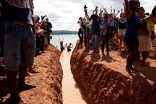 Protest against the Belo Monte dam in Brazil. Photo: Amazon Watch