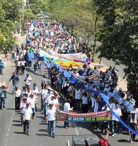 Marcha 20 de septiembre de 2012_Cortesia ASOQUIMBO