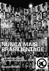 Nunca_Mais_Brasilientage_Programmheft