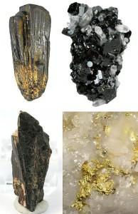 Zinn, Wolfram, Koltan, Gold