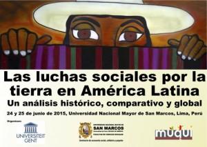 Konferenz in Lima über soziale Konflikte um Land in Lateinamerika