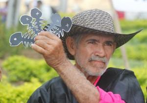 Fischer vom Fluss Sogamoso protestiert gegen Fischsterben unterhalb des Staudamms | Foto: Archiv Ríos Vivos