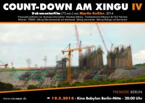 Count-Down am Xingu IV