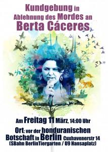 Berta VIVE,cartel