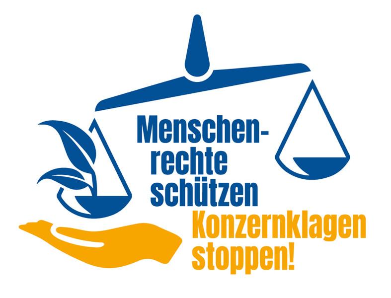 Menschenrechte schützen – Konzernklagen stoppen! Stop ISDS